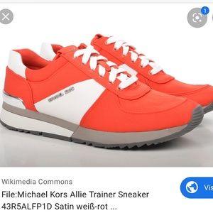 Michael Kors Allie trainer Orange Sneaker